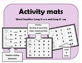 Long U activity mats