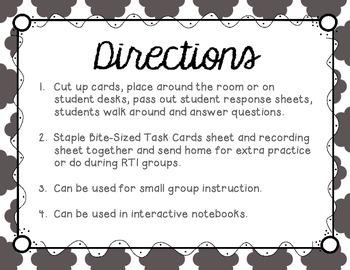 Long U (ew and oo words) Tiny Task Cards