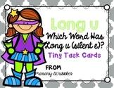 Long U (silent e) Tiny Task Cards