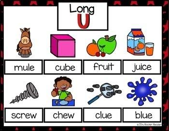 Long U (u_e, ui, ew, ue) Activities and Games