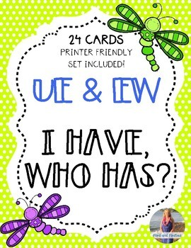 "Long U (UE and EW) ""I Have, Who Has"""