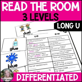 Long U- ue/ew Differentiated Read the Room