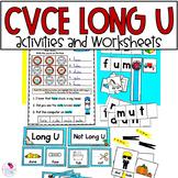 Long U with Magic E CVCe
