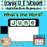 Digital Learning Long U_E Vowel Write