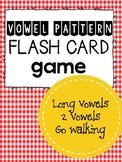 Long Vowel (2 Vowels Go Walking) Flash cards