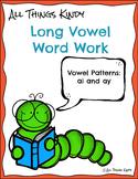 Long Vowels Long A