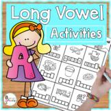 Long Vowel A Activities