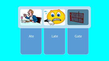 Long Vowel A Powerpoint