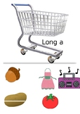 Long Vowel A Shopping Game