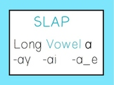 Long Vowel A: Slap Game