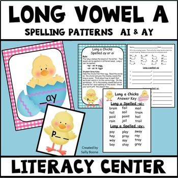 Long Vowel A Spelling Pattern