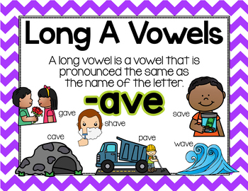 Long Vowel A Word Work {BUNDLE}