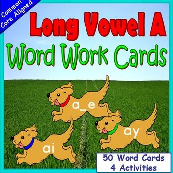 Long Vowels Kindergarten or First Grade