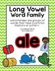 Long Vowel A Word Work {-ale Word Family} FREEBIE
