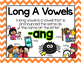 Long Vowel A Word Work {-ang Word Family}