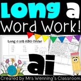 Vowel Digraph ai (long a) Pack!