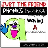 Long Vowel A (cvce) Craftivity, Phonics Friends Character