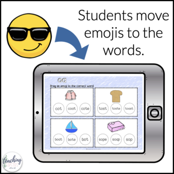 Long Vowel Activities for Seesaw