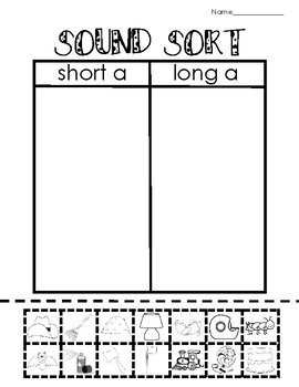 Long Vowel Activities and Printables BUNDLE