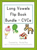 Long Vowel Activity Flip Book Bundle - CVCe Pattern