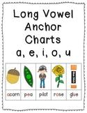 Long Vowel Anchor Charts {Click File, Print}