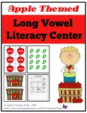 Long Vowel Apple Literacy Center