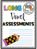 Long Vowel Assessments