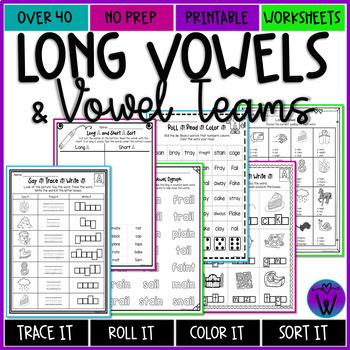 Long Vowel Assessments NO PREP