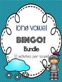 Long Vowel Bingo Bundle! [10 playing cards per sound]
