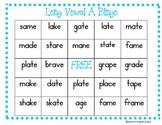 Long Vowel Bingo (Long A with sneaky e)