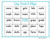 Long Vowel Bingo (Long A with sneaky e)