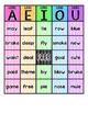 Long Vowel Bingo (w/ Common Long Vowel Spelling Patterns) K-1