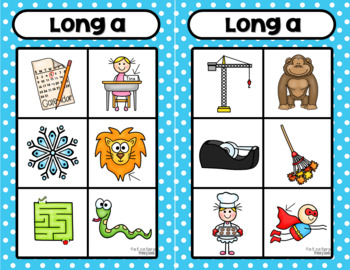 Long Vowel Board Game ~ Let's Read Silent e!