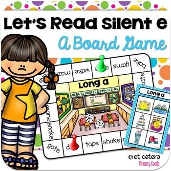 Long Vowel Board Game ~ Let's Read Silent e!
