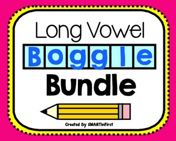Long Vowel Boggle Bundle