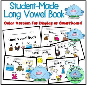 Long Vowel Book & Chart Activity