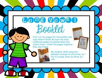Long Vowel Booklet FREEBIE