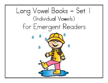 Long Vowel Books - Long Vowel Readers - Emergent Readers (Set of 5)
