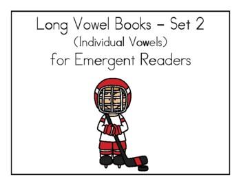 Long Vowel Books (Set 2) - Long Vowel Readers - Emergent Readers (Set of 5)