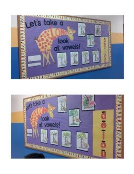 Long Vowel Bulletin Board