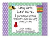 Long Vowel Bump Games (Long E and Long I)