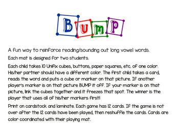 Long Vowel Bump game