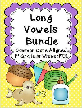 Long Vowels Bundle~ TWO freebies in the download preview!!