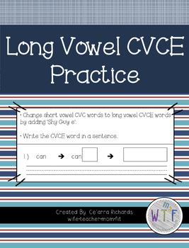 Long Vowel CVCE Practice