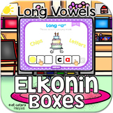Long Vowel CVCe Elkonin Boxes ~ Interactive PowerPoint
