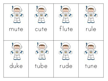 Long Vowel CVCe Game for Fluency/ Silent E, Magic E