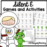 Magic E Game Game to Practice Reading Vowel Consonant Silent E Syllable Words