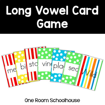 Long Vowel Card Game