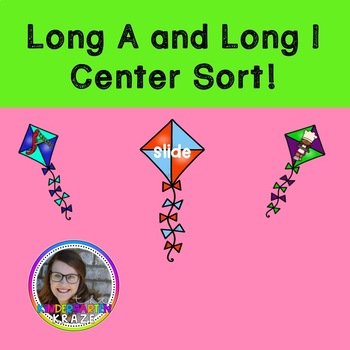 Long Vowel Center- Long A and Long I