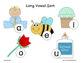 Long Vowel Center {Sorting Mat and Cards}